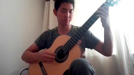 山西太原郭利民古典吉他工作室-母佳楠演奏卡尔卡西OP.60之一