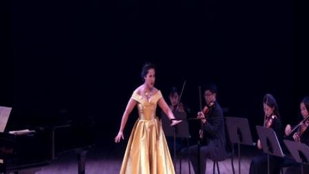 卢思嘉演唱咏叹调《复仇的火焰》,选自莫扎特的歌剧《魔笛》