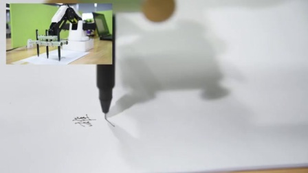 Dobot Magician多笔同时抄写