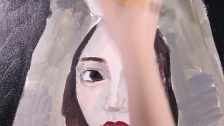 #吴琼琼的彩妆教室#狼人女孩