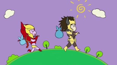 【达拉崩吧】联盟三分半Vol9:达拉崩吧 屠龙篇皇子龙女巨龙撞击英勇屠龙
