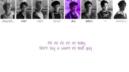 EXO 甜蜜谎言 (Sweet Lies) 认声歌词版