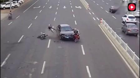 这几段车祸告诉大家,为什么会有这么多司机痛恨电动车
