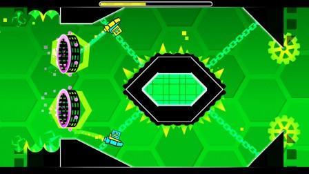 几何冲刺第十六关Hexagon Force