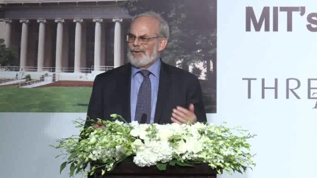 8月30号外滩三号三言舍活动:MIT为了更美好的世界 Eric Grimson人工智能高峰对话 by Prof. Eric Grimson