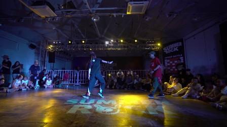 HipHop Battle 16进8 叶音 vs 蚊子 20170824 Summer Rock