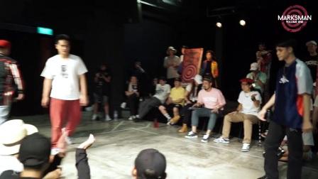 【Tuttin】Handstyles 7 To Smoke 比赛部分 - 新加坡 Marksman 街舞赛 Vol. 1
