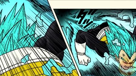 龙珠超漫画27集:贝吉塔vs破坏神_全彩色_漫画剪成视频版_60帧