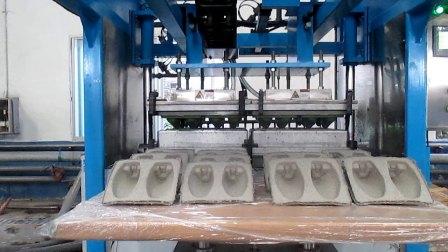 必硕科技纸浆模塑-鞋托成型与转移过程