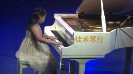 星耀中国2017少儿明星艺术大赛江苏省总决赛扬州启程培训 钢琴 童年的回忆