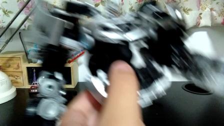 全金属喷漆?变形金刚日版mb07联盟级声波〔Megatron的视频分享7〕