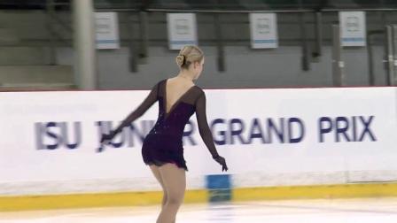 2017年花滑少年大奖赛拉脱维亚站 - 女单短节目第二名-Alisa FEDICHKINA RUS