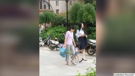 马伊琍拍新戏演保姆 网友:打扮太土了认不出来 170912