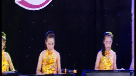揭阳市榕城区梅云街道琴之韵艺术培训中心——电子琴合奏《歌在飞》《女儿情》