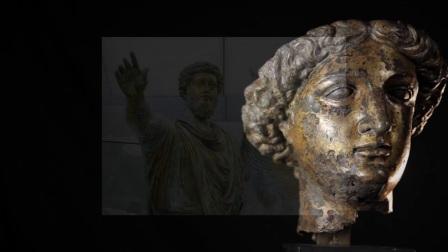 巴斯罗马浴场博物馆的米涅尔瓦女神头像