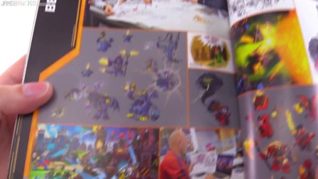 积木砖家乐高LEGO NEXO Knights exclusive Clay & Character Encyclopedia book