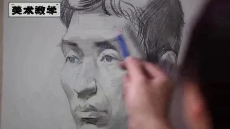 高考素描调子静物头像技巧 素描调子速写绘画学习 素描调子学习画排线