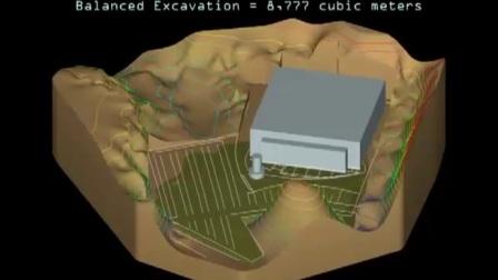 南京库仑EVS开挖建模
