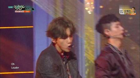 EXO - Lotto - KBS音乐银行160819