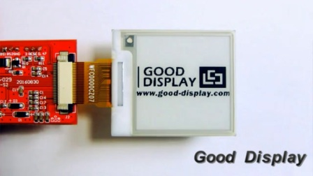 1.54小尺寸电子纸显示屏 GDEH0154D27局刷显示屏 单色电子纸显示屏