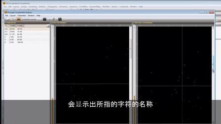主要成分分析和字符数据集的判别分析 [BioNumerics 7] - Subtitles