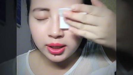 卸妆视频分享