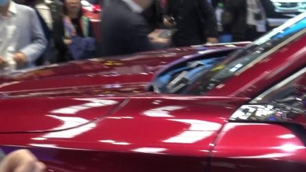奇瑞EXEED TX概念车高调亮相法兰克福车展,贯穿式灯带亮瞎全场