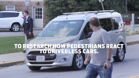 'Mystery Van 2019 Helping Self-Driving Cars Communicate with People