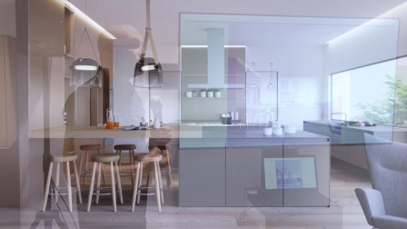 德国顶级橱柜品牌bulthaup约翰内斯堡展厅设计师 阐述如何用bulthaup橱柜及Rimadesio移门及家具打造极致空间