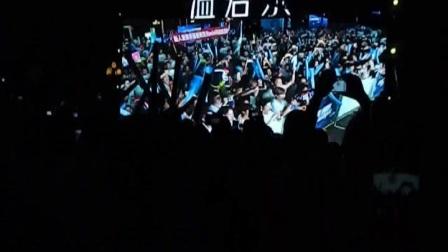 著名歌手许飞在湖南长沙演唱会上;2017;9;10