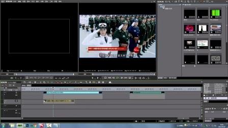 老猪原创EDIUS视频教程100课之47-雷特字幕之大标题模板的套用