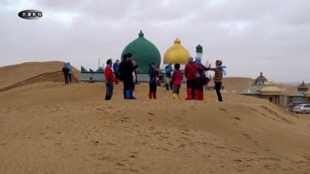 【西北风光】通湖草原(内蒙古阿拉善左旗)腾格里沙漠腹地 古丝绸之路北路要塞