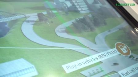 2017法兰克福车展,舍弗勒展出面向整个能源链的技术解决方案!