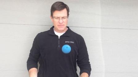 Open Cell Materials- Racquetball vs Practice Golf Ball