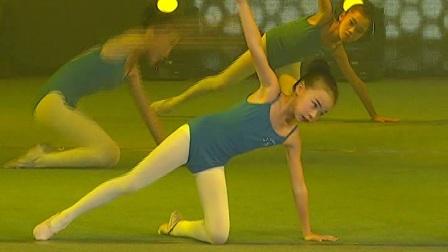 《技巧组合》青少年舞蹈,海南省文昌市三人行艺术培训中心
