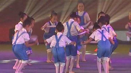 少儿舞蹈《劳动最光荣》海南省文昌市三人行艺术培训中心