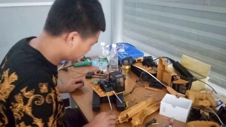 威力模型丝杆挖掘机改装教程