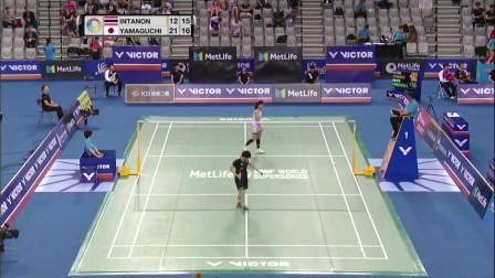 2017韩国羽毛球公开赛四分之一决赛最佳球