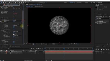 AE教程-科幻能量球特效动画制作Energy Ball