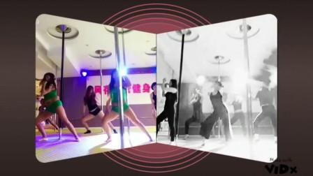 石家庄风存钢管舞健身课 舞蹈训练