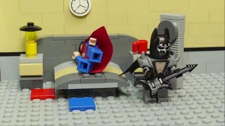 酷浩乐高搞笑定格动画_蝙蝠侠的扰邻趣事