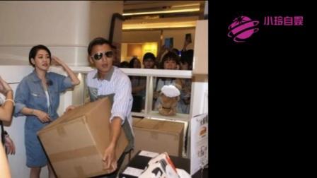 谢霆锋与小S放下身段,搬运100盒月饼曲奇,送给低收入的家庭