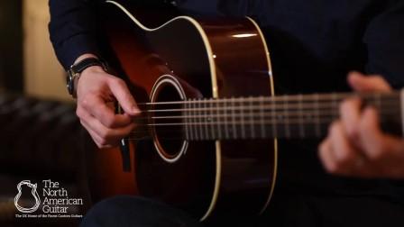 超温柔的大叔帮你试音,复古吉他Santa Cruz