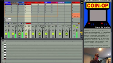 COIN-OP Retro Video Game Ableton Live Template
