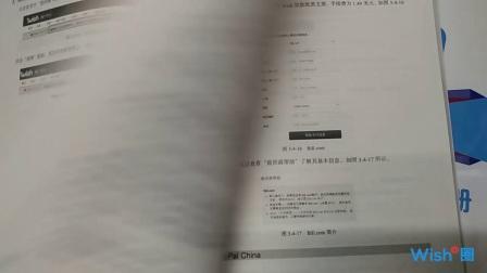 Wish官方运营手册书籍实物视频