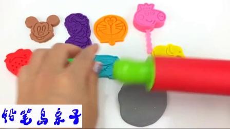 铅笔岛亲子: 学习颜色发挥卫生署小妹猪冰棒冰淇淋迪斯尼米老鼠你好凯蒂猫汽车超级英雄 火影忍者 小猪佩奇 贝瓦儿歌 奥特曼 蜡笔小新