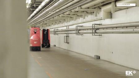 自然导航移动机器人在医院中的应用
