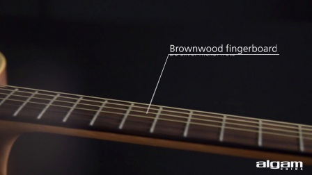 Lâg Guitars   T70D-HIT with integrated headstock tuner