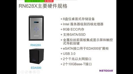 #一品十五分#RN628X NETGEAR 8盘位高端存储
