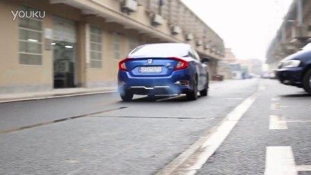 10代思域 改装排气管 ASPEC 全段智能可变阀门排气系统 声浪视频